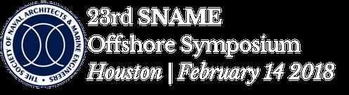SNAME Offshore Symposium
